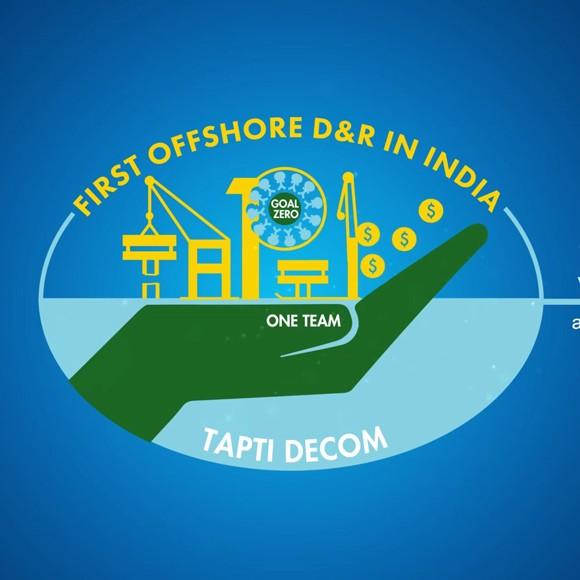 Tapti DECOM Logo Animation
