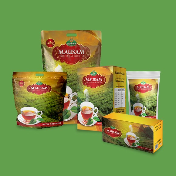 Mausam Tea Packaging