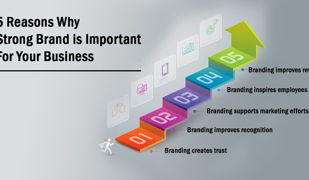 5 Reasons Why Strong Brand is Important For Your Business